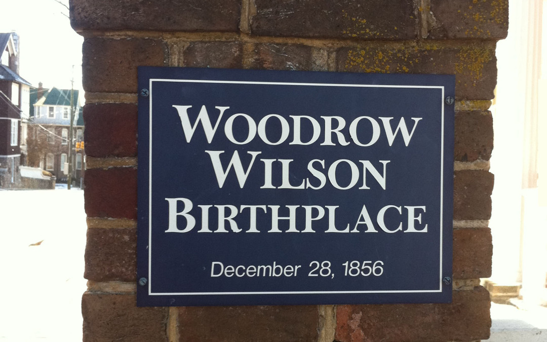 Why Most History Books Have an Incorrect Birthday for Woodrow Wilson