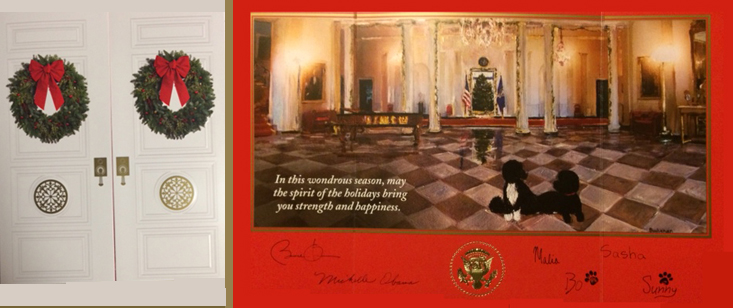 2014obamachristmascard history of white house christmas cards