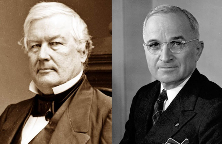 The Unusual Thing That Harry Truman and Millard Fillmore Have in Common