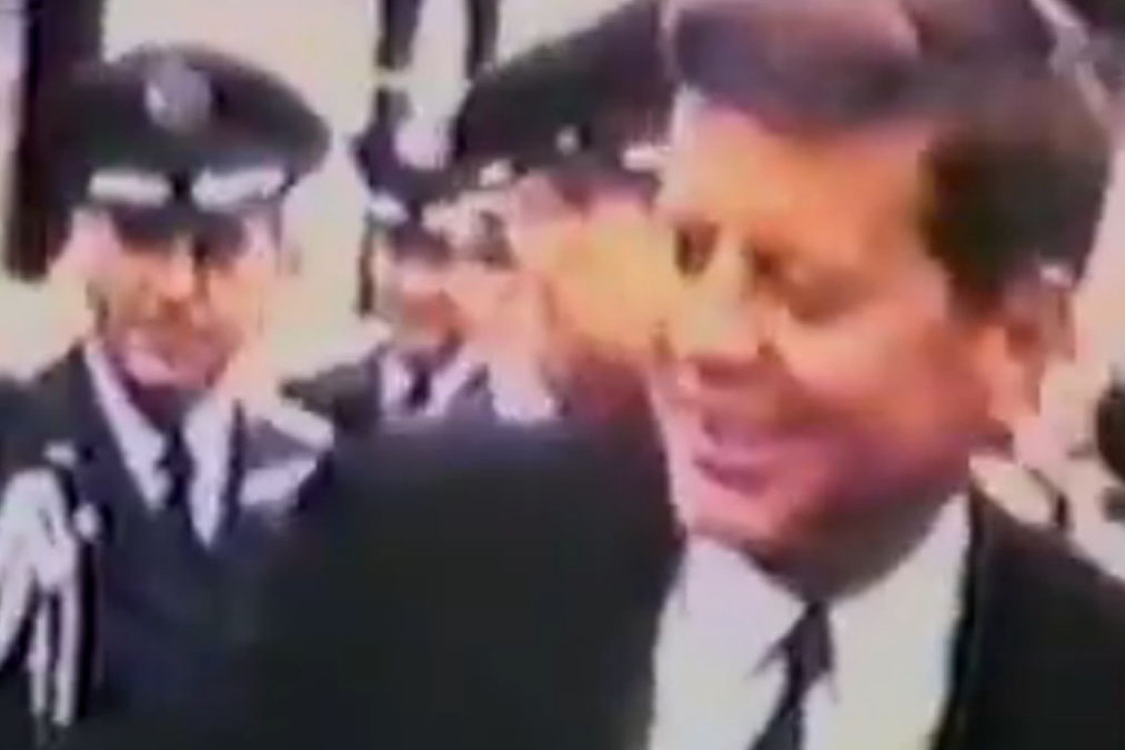 JFK Video Clip Made Public for First Time