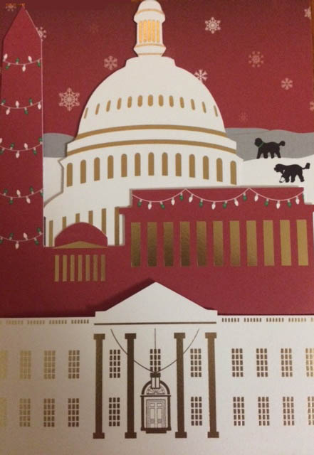 Merry Christmas from the President (and me!)