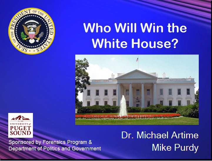 "Video of Lecture: ""The Long Road to 1600 Pennsylvania Avenue"""